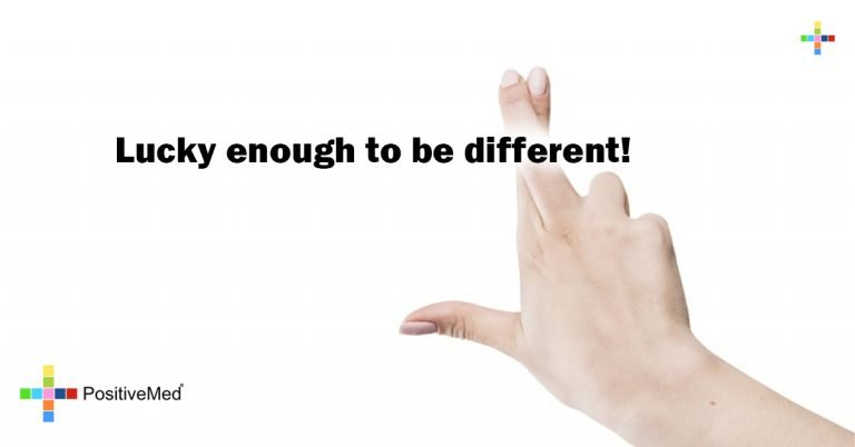 Lucky enough to be different!