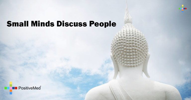 small minds discuss people