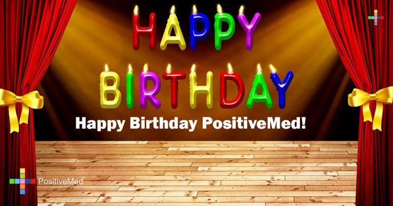 Happy Birthday PositiveMed!
