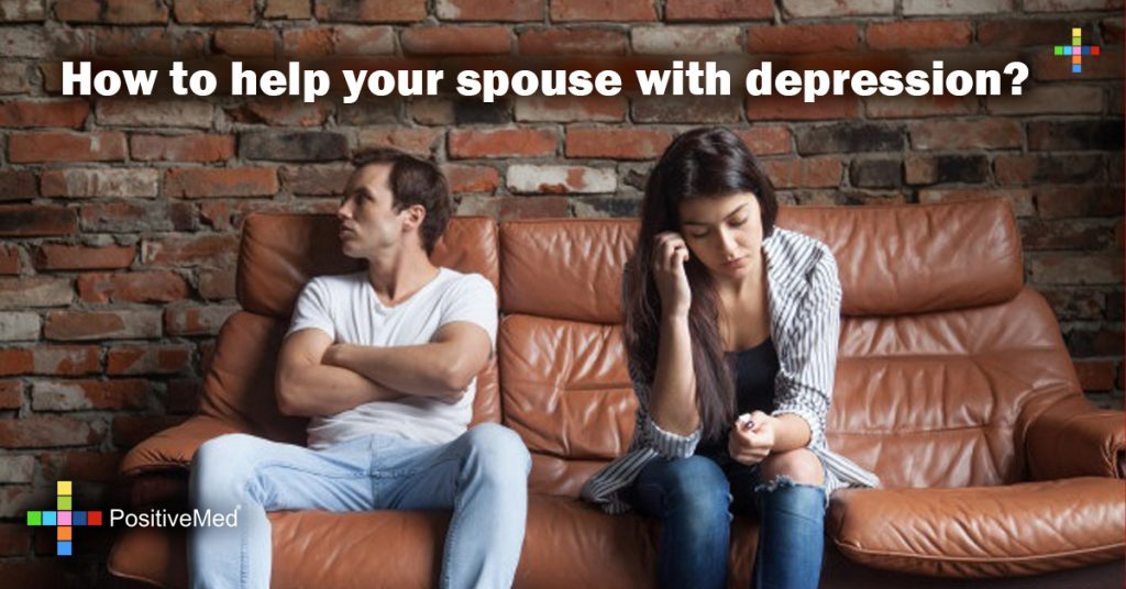 How to help your spouse with depression?