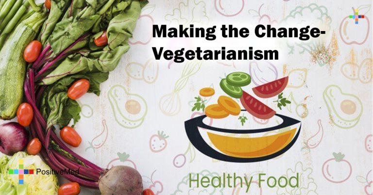 Making the Change- Vegetarianism