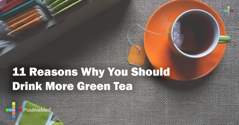 11 reasons why you should drink more green tea