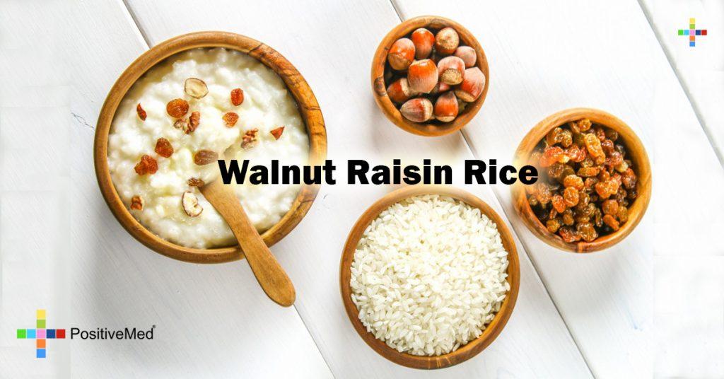 Walnut Raisin Rice