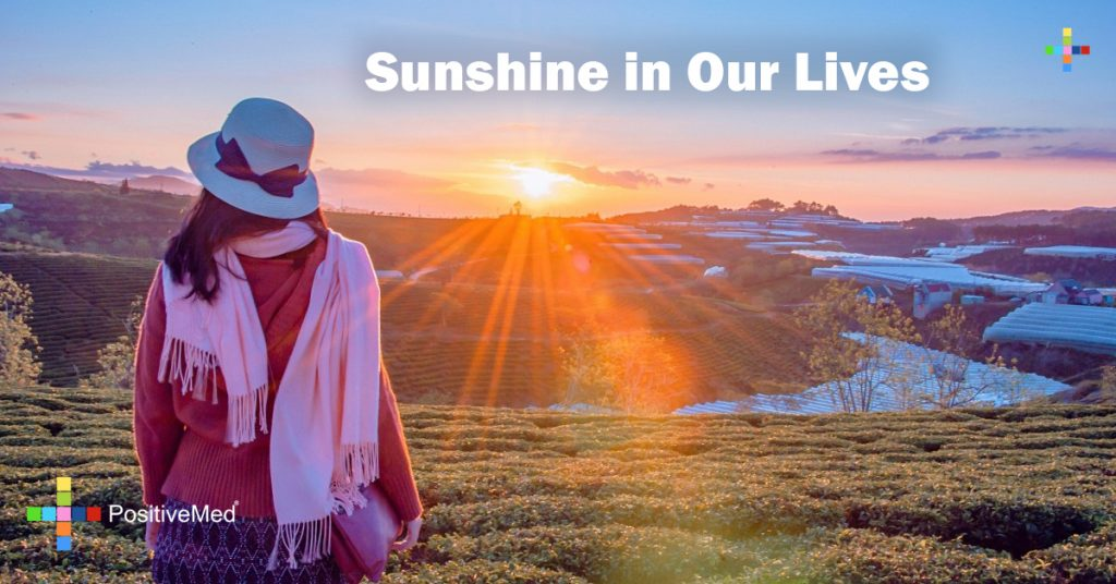 Sunshine in our lives