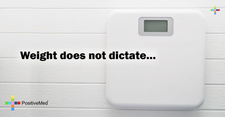 Weight does not dictate…