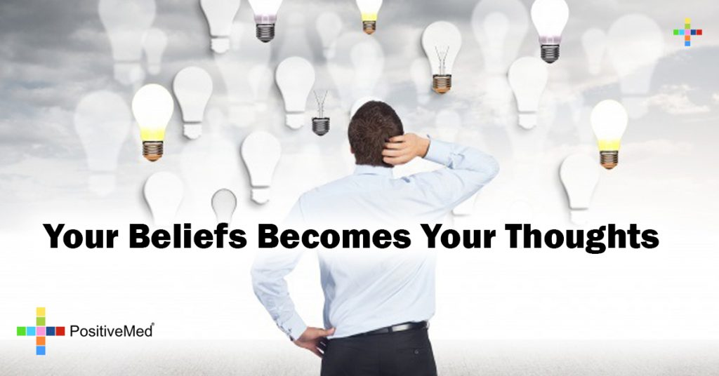 Your beliefs becomes your thoughts