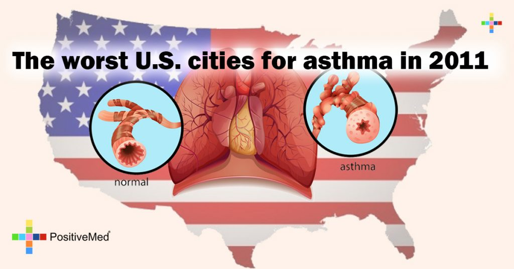 The worst U.S. cities for asthma in 2011