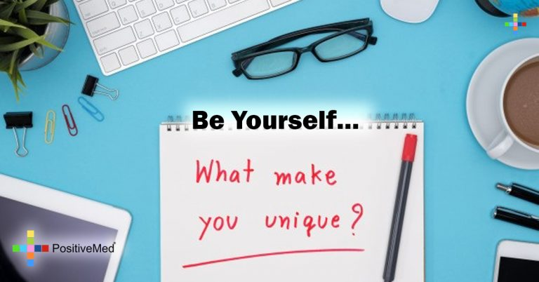 Be yourself…