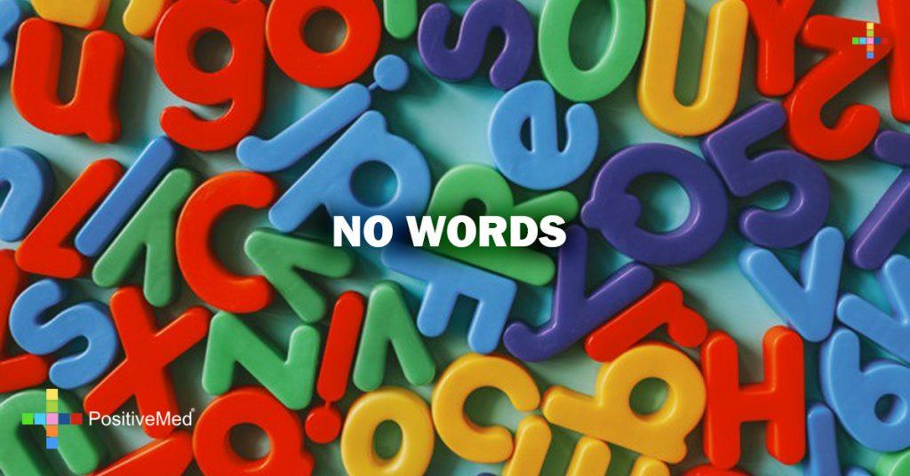 NO WORDS