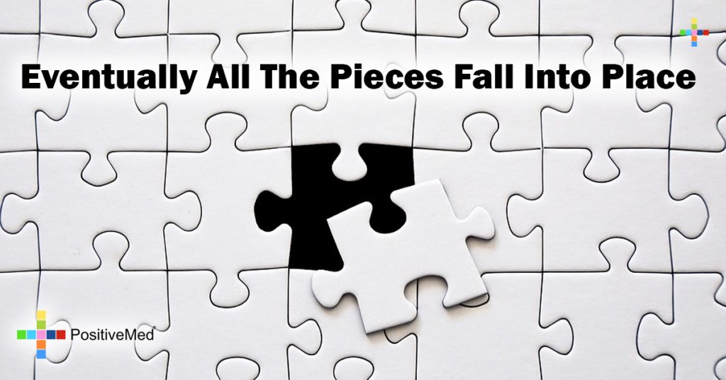 Eventually all the pieces fall into place