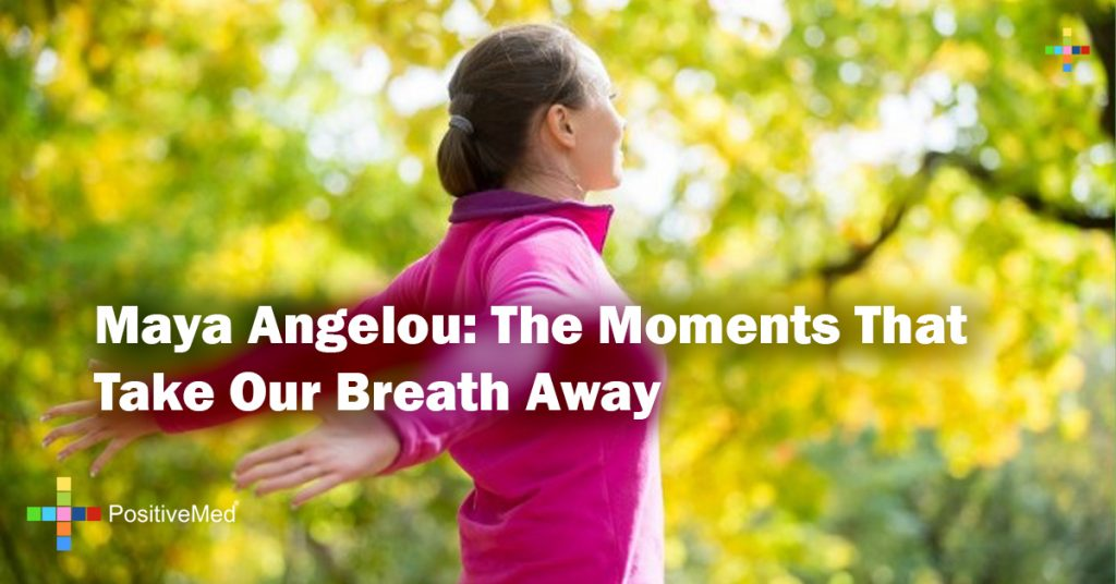 Maya Angelou: The moments that take our breath away