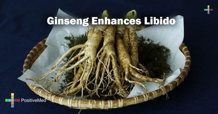 Ginseng enhances libido