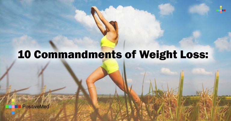 10 Commandments of Weight Loss: