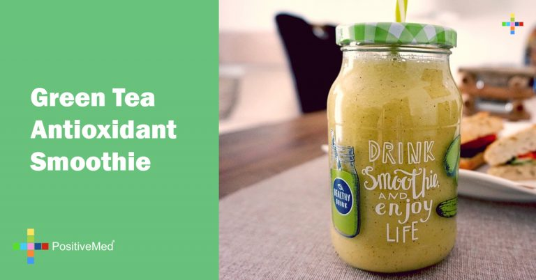 Green Tea Antioxidant Smoothie