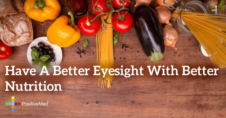 Have a better eyesight with better nutrition