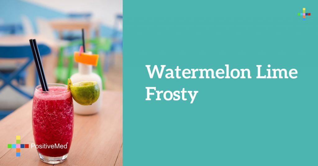 Watermelon Lime Frosty