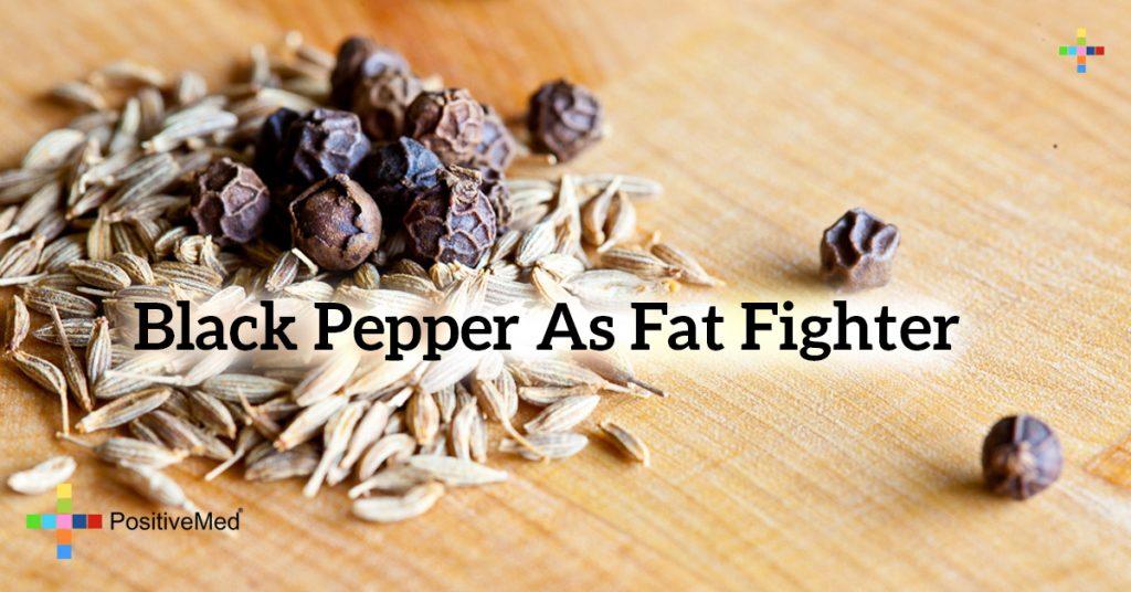 Black pepper as fat fighter