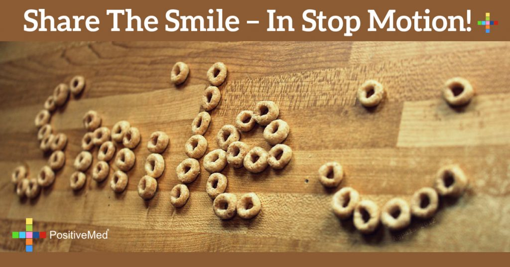SHARE THE SMILE - in stop motion!
