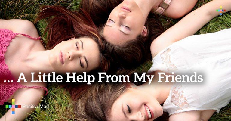 … A Little Help From my Friends