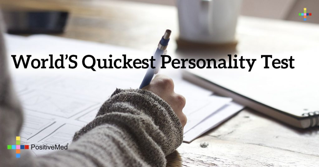 World's Quickest Personality Test