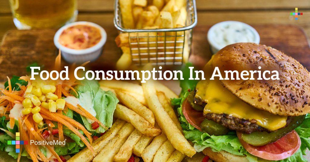 Food consumption in America
