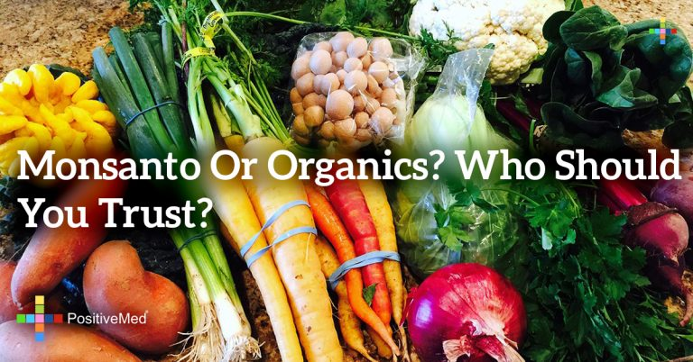 Monsanto or organics? Who should you trust?