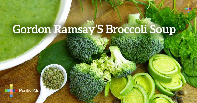 Gordon Ramsay's Broccoli Soup