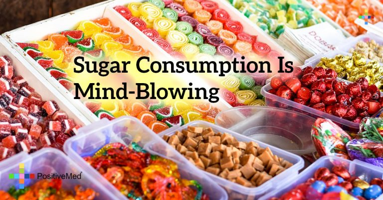 Sugar consumption is mind-blowing