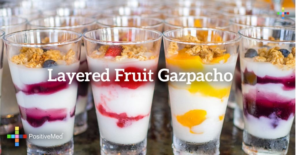 Layered Fruit Gazpacho