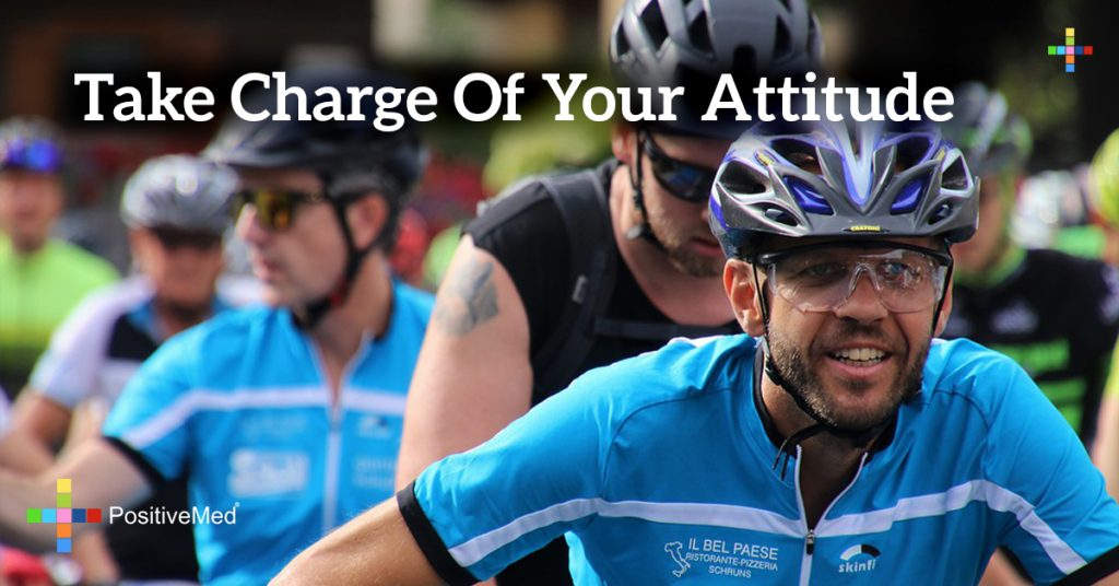 Take charge of your attitude