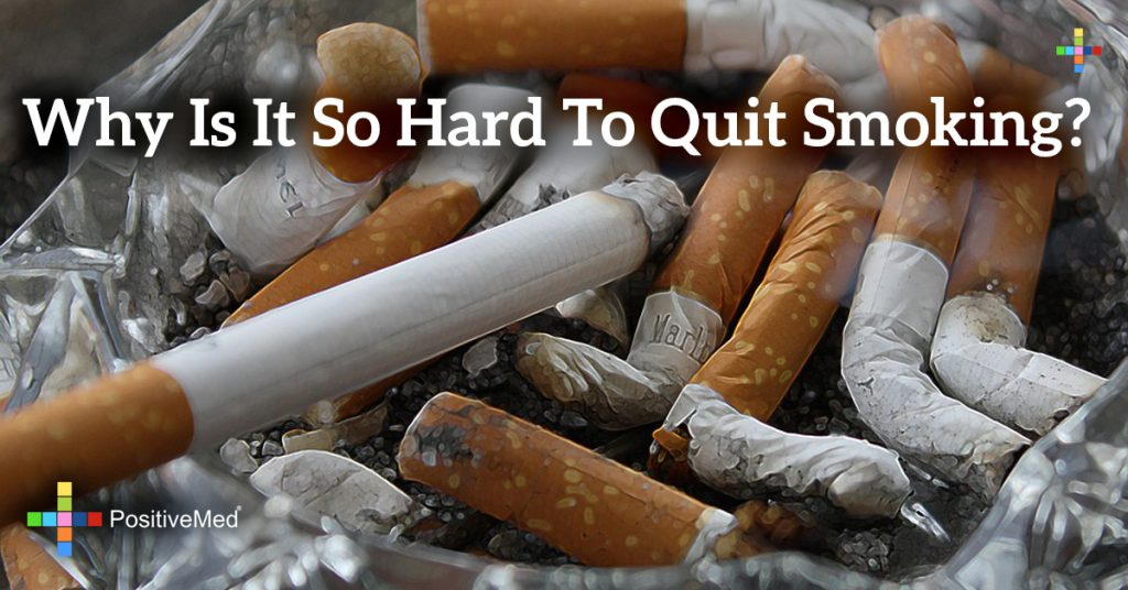 Why is it so hard to quit smoking?