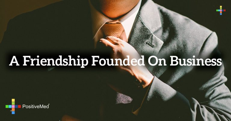 A friendship founded on business