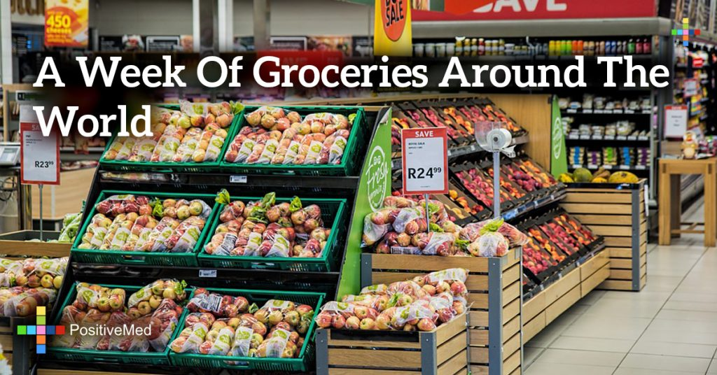 A Week Of Groceries Around The World