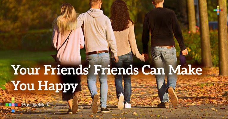 Your Friends' Friends Can Make You Happy