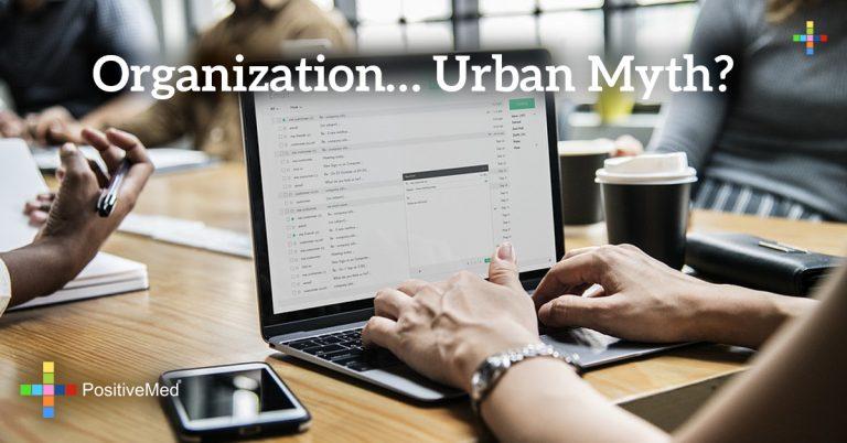 Organization… Urban Myth?