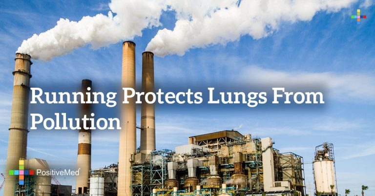 RUNNING PROTECTS LUNGS FROM POLLUTION
