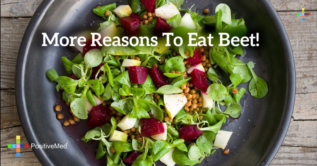 More reasons to eat beet!