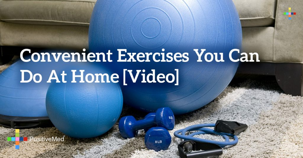 Convenient exercises you can do at home