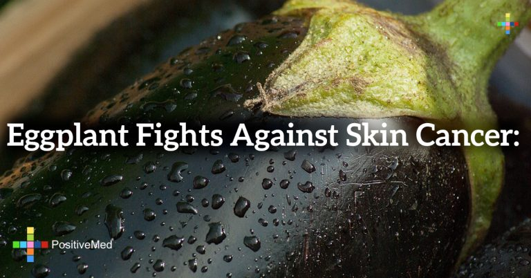 Eggplant fights against skin cancer: