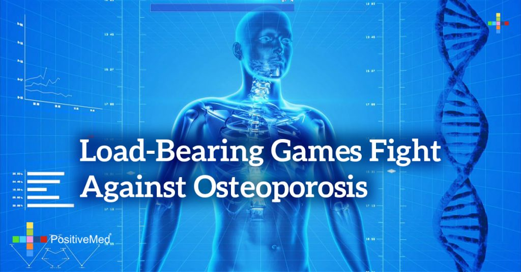 Load-bearing games fight against osteoporosis