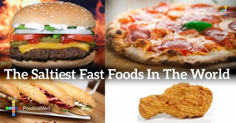 The saltiest fast foods in the world