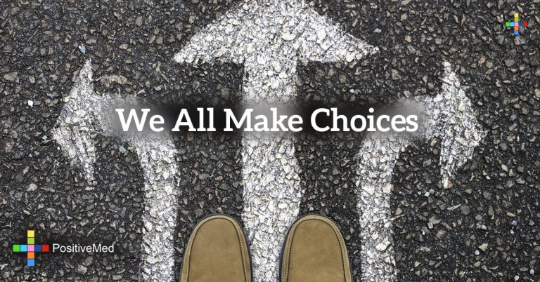 we all make choices