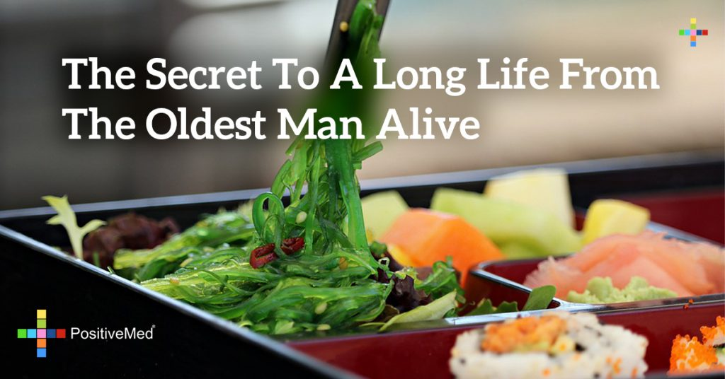 The secret to a long life from the oldest man alive