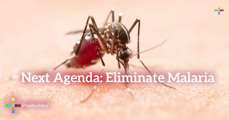 Next Agenda: Eliminate Malaria