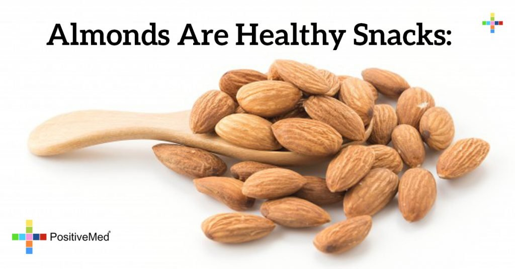 Almonds are healthy snacks: