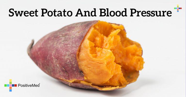 Sweet potato and blood pressure