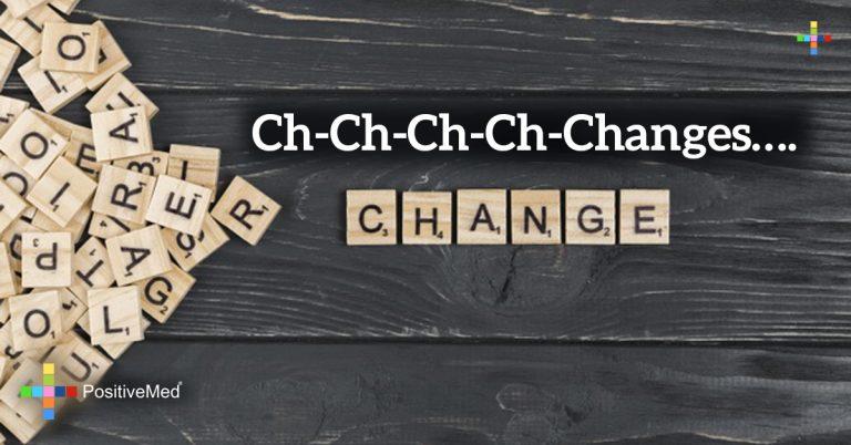 Ch-ch-ch-ch-changes….