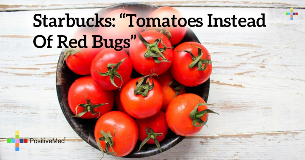 "Starbucks: ""Tomatoes Instead of Red Bugs"""