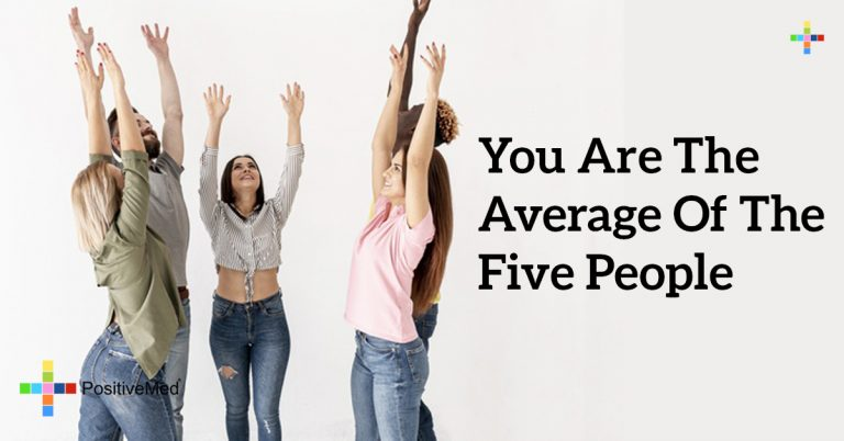 You are the average of the five people