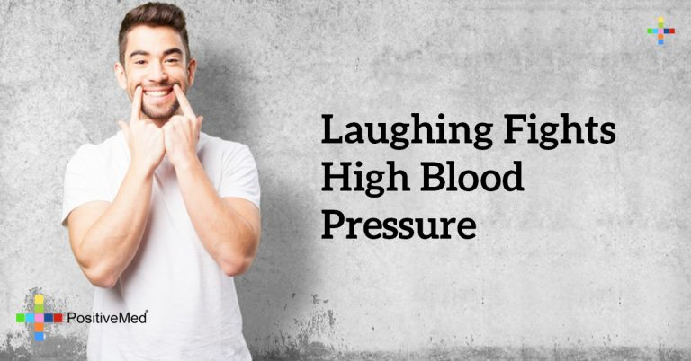 laughing fights high blood pressure